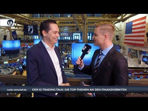 """IG Trading Talk von der NYSE: """"Kritischer Punkt - US-Indizes unter 10-Wochen-Linie"""""""