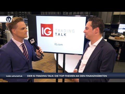 """IG Trading Talk: """"Rechteck-Formation bei der türkischen Lira - DAX-Obergrenze 12.858 Punkte"""""""