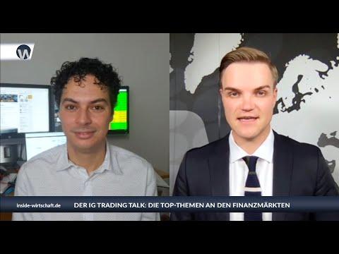 """IG Trading Talk: """"Bitcoin sicherer Hafen Nummer 1? Weitere Korrekturen könnten beim Dax anstehen"""""""
