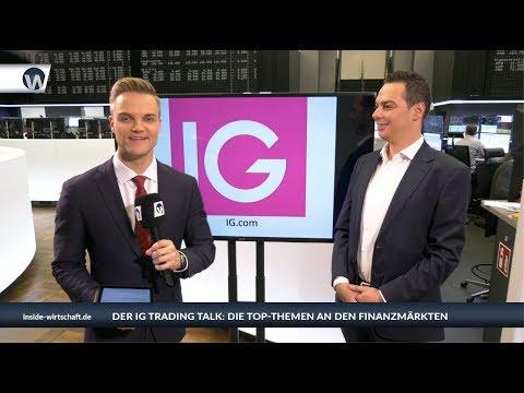 """IG Trading Talk: """"Der Dax ist am Scheideweg"""""""