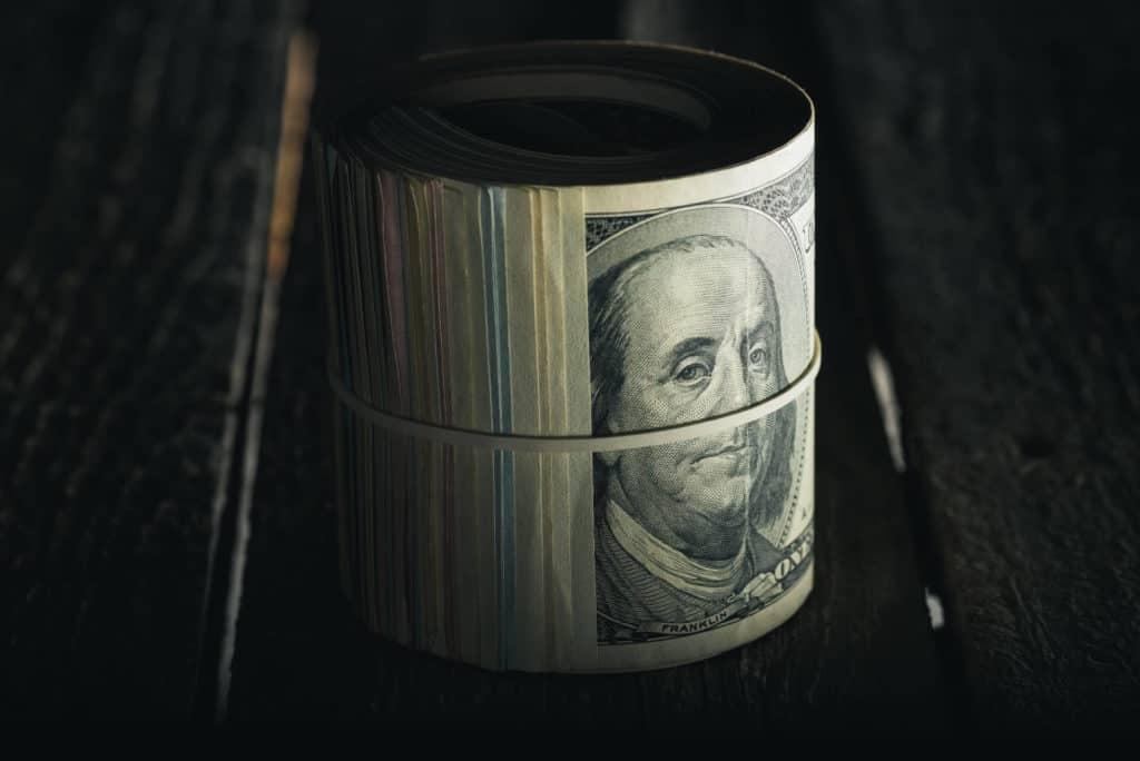 USD-Banknoten