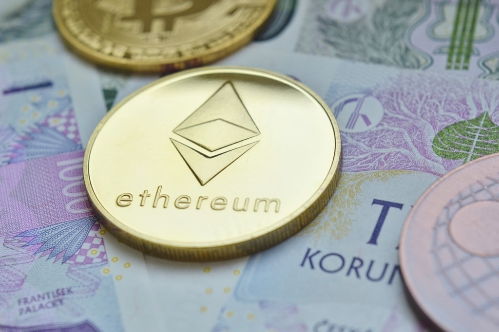 ethereum, cryptocurrency, the value of the