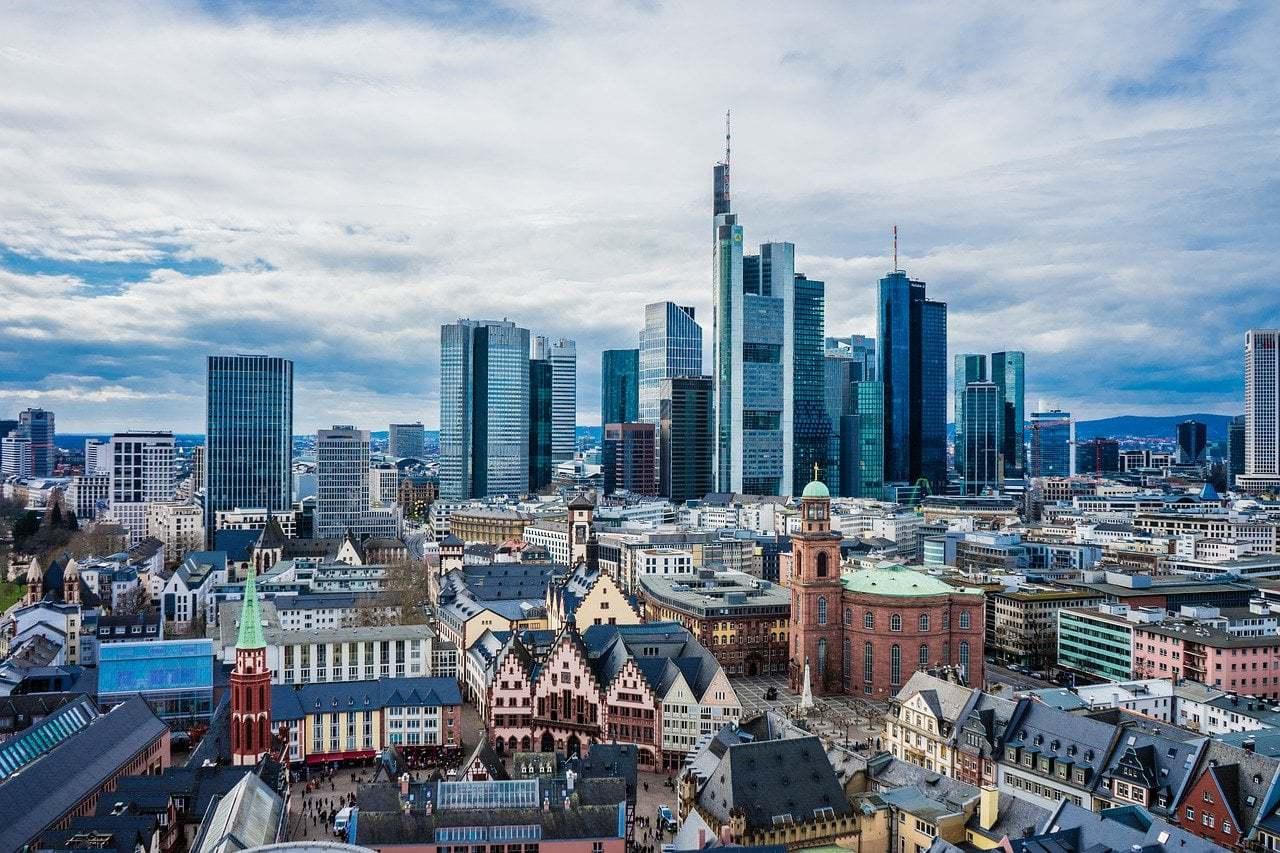 frankfurt, main, skyline