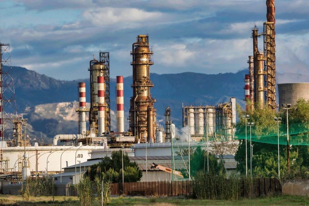 refinery, petroleum, fossil