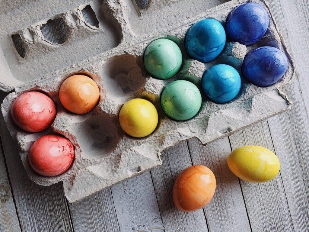 eggs, easter, easter eggs