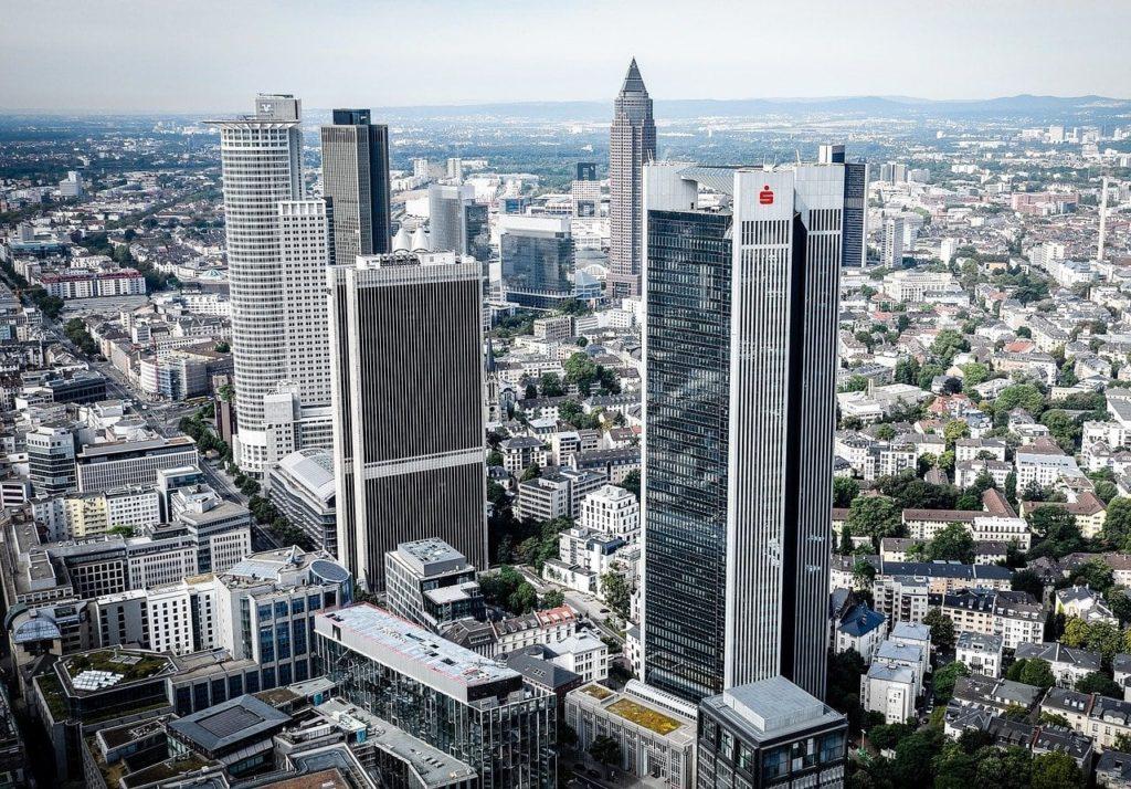 frankfurt, main, skyscraper