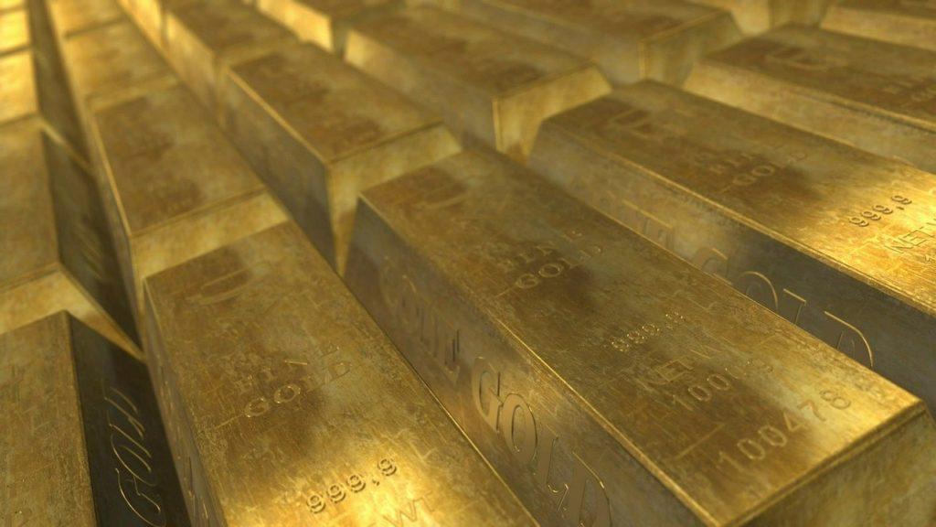 gold, bars, wealth