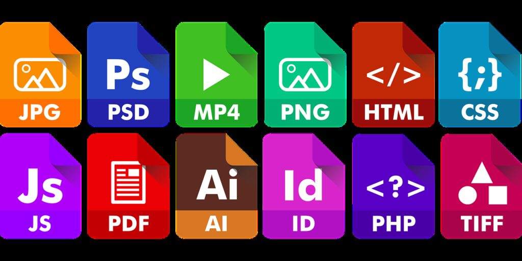 icon, file, extension