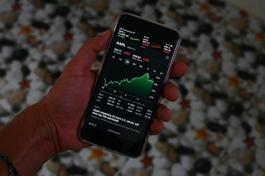 iphone, stocks, market
