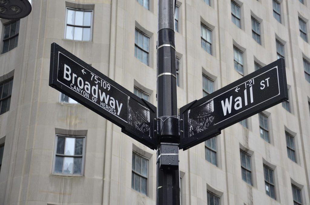 new york, broadway, wall street