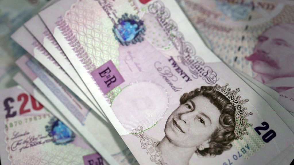 british, banknotes, currency