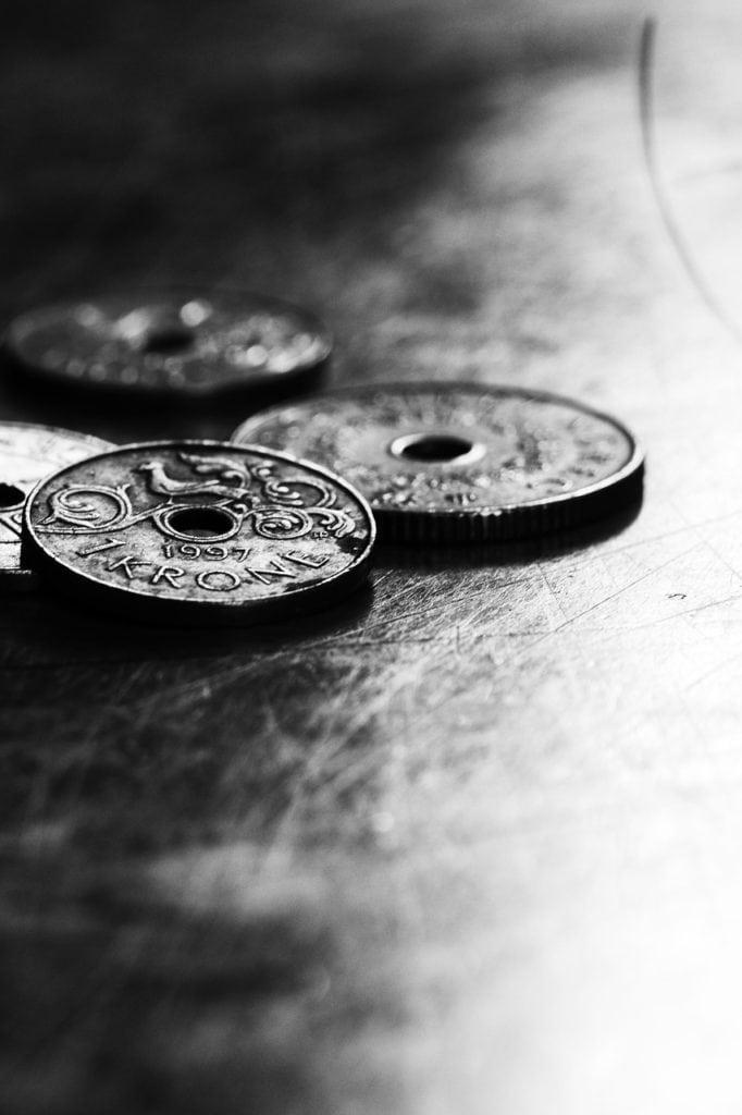 coins, money, norwegian