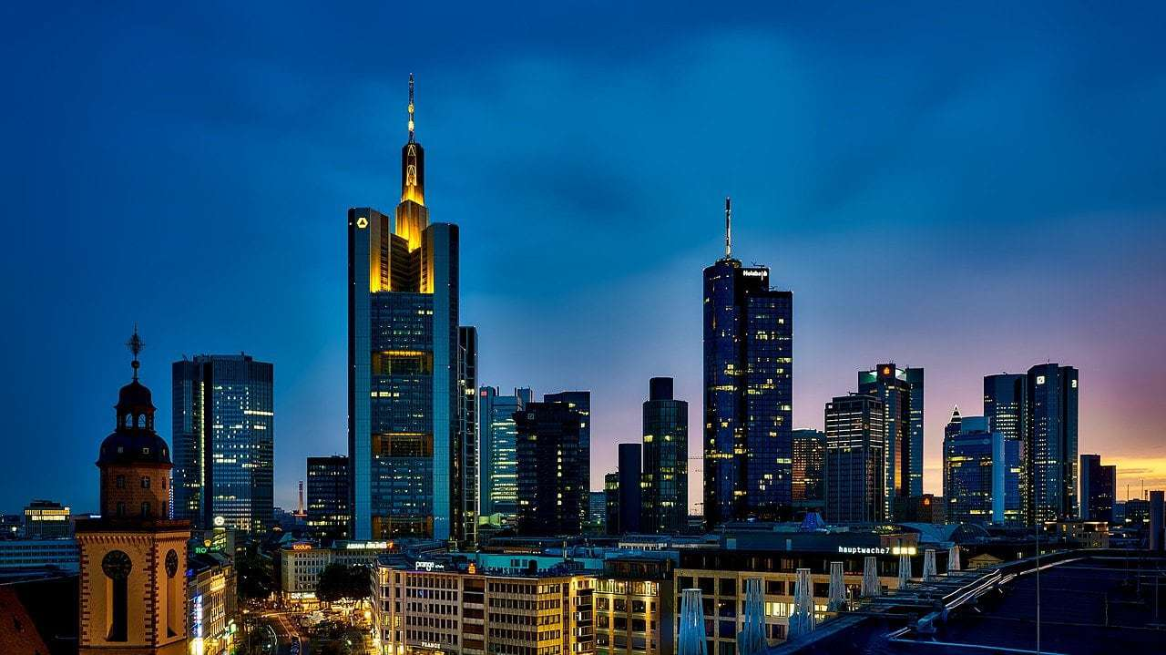 buildings, city, illuminated