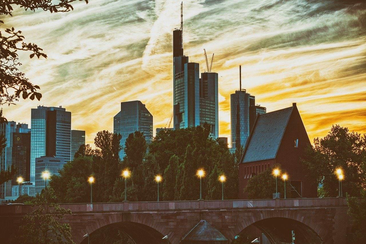 skyline, skyscraper, city